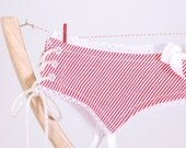 Garter Belt in Valentine Candy Stripe