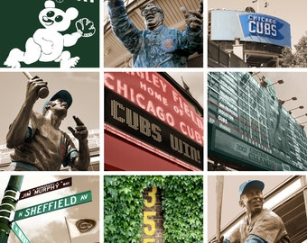 Chicago Cubs Large Canvas - Any Print from my Wrigley Collection