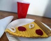 Slice of Pizza Crochet