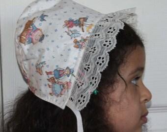 Baby Bonnet - Nursery rhymes - Girls - Clearance