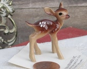 Vintage Hagen-Renaker Miniature Baby Deer Standing Figurine, Collectibles, Fawn, Bambi Figurine, Christmas Gift Idea, Holiday, Treasury