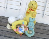 Vintage Baby Shower Decorations - 5 PC Set