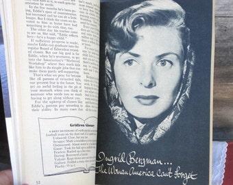 Vintage Coronet Magazine November 1955 - Featuring Ingrid Bergman...the Woman America Can't Forget, Vintage Ephemera,Vintage Advertisements