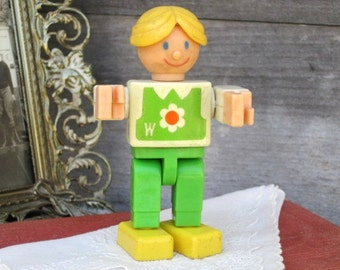 Vintage Toy, Wannabees Gabriel 1975, Action Figure, Collectible Toy