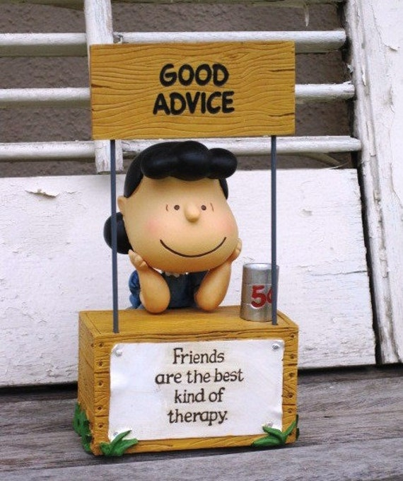 Peanuts Lucy Advice