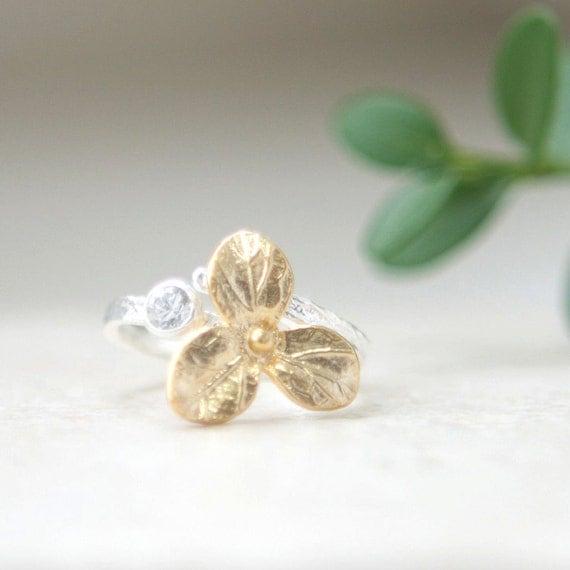 Three Petal ring