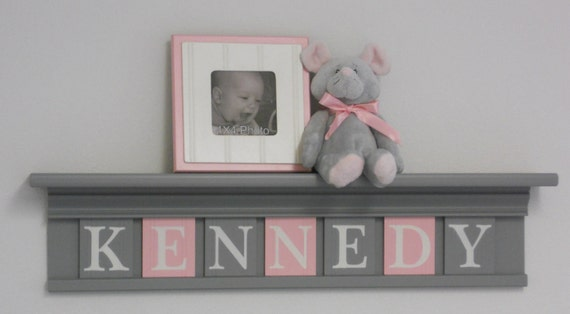 kids furniture painted pink and gray nursery baby girl grey. Black Bedroom Furniture Sets. Home Design Ideas
