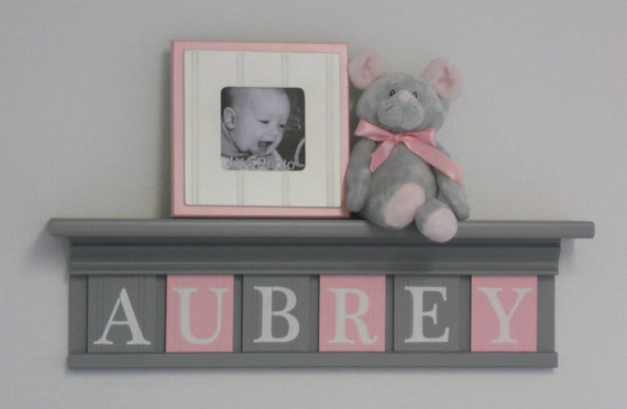 Gray And Pink Pastel Light Pink Baby Girl Nursery Decor