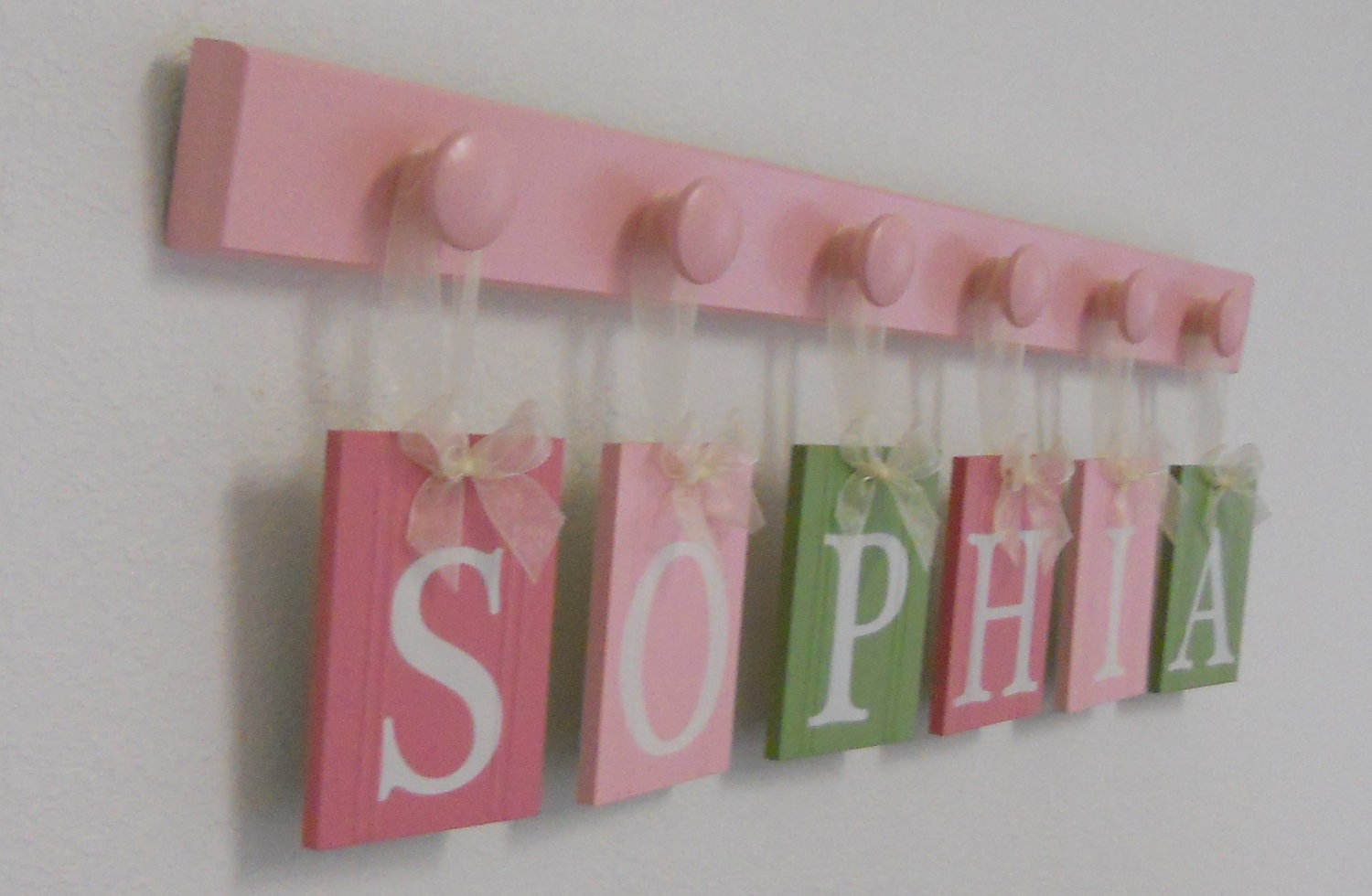 Sophia Wooden Letters Nursery Includes Childrens By