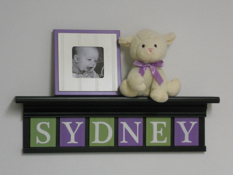 Lavender nursery decor baby girl nursery wall art 24 - Purple baby girl nursery ideas ...