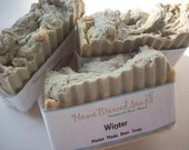 On sale- Winter Beer Soap - Natural Soap- Gift Soap-