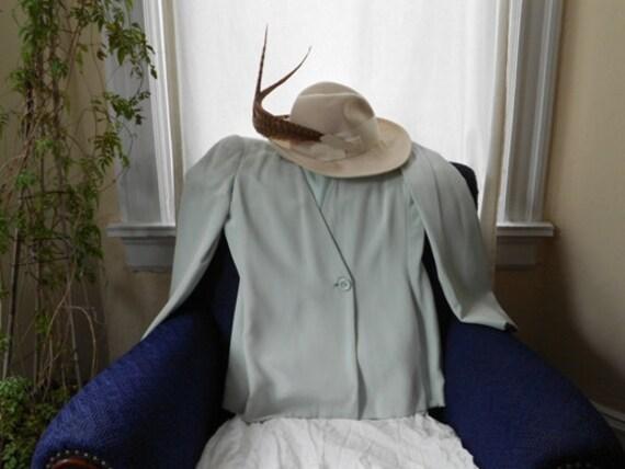 Vintage Carolina Herrera Mint Jacket
