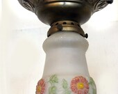 Deco Ceiling mounted shade Fixture