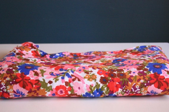 1960's Floral Fabric
