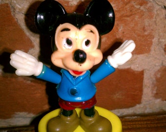 Mickey Mouse Vintage Gabriel Push-Up Puppet 1977