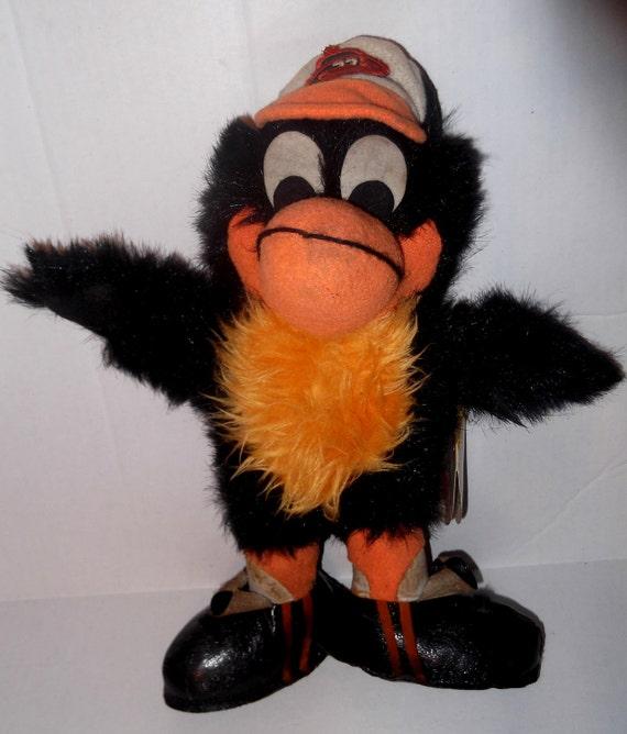 Baltimore Orioles Stuffed Animal - The Bird, 1960/1970s