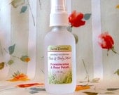 Naturally Nourishing FRANKINCENSE and ROSE PETALS Face & Body Mist