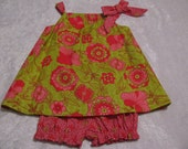 pillowcase dress with panties size 18 - 24 months