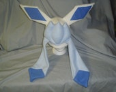 Shiny Glaceon Fleece Cosplay Hat