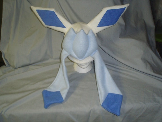 glaceon fleece hat by -#main