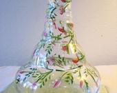 Hand Painted Rosebud vase