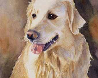 custom pet/ house paintings,watercolor,paint your beloved companion
