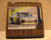 Jimmy Johnson Coasters - Set of 4 - nascar 48 lowes racecar driver racing christmas gift