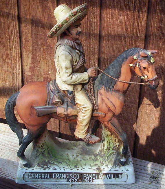 Pancho Villa Tequila Decanter Pancho Villa By Theoldgarage