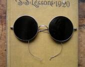 Reserved for Payton - Vintage Dark Welding Eye Glasses with Metal Case