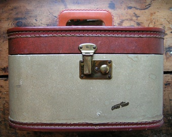 Vintage Vacationer Luggage - Train Case