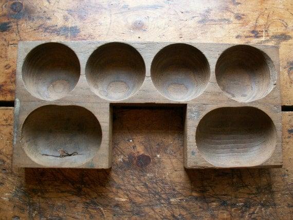 Vintage Wood Cash Register Coin Tray Organizer