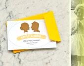 Silhouette - Wedding Invitation Suite