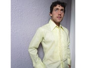 Vintage Men's Lace & Ruffle Tuxedo Shirt Lion of Troy Large long 16/35 unworn