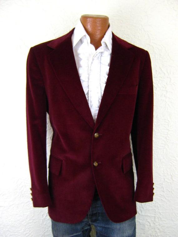 Red Wine Blazer | Fashion Ql