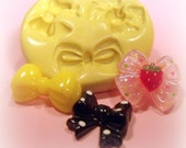 Bow theme flexible silicone mold / mould