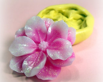 Large Flower flexible silicone mold / mould