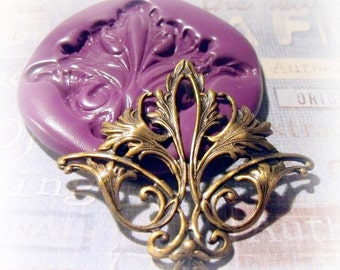 Large Victorian Embellishment flexible silicone mold / mould