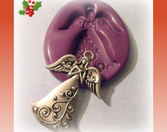 Christmas Angel Flexible Silicone mold / mould