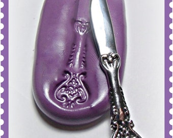 NEW Large Victorian knife flexible silicone mold / mould