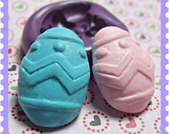 Easter Egg Flexible Silicone mold / mould