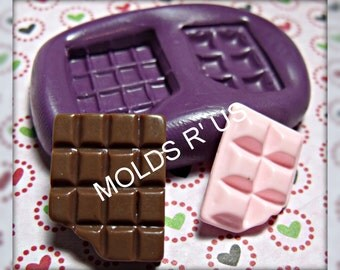 Chocolate Bars Flexible silicone mold / mould