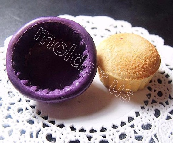 Cupcake base silicone mold / mould