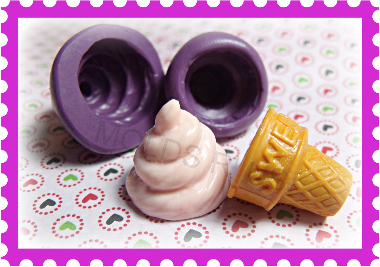 Ice Cream Mold Flexible Silicone Mold Mould