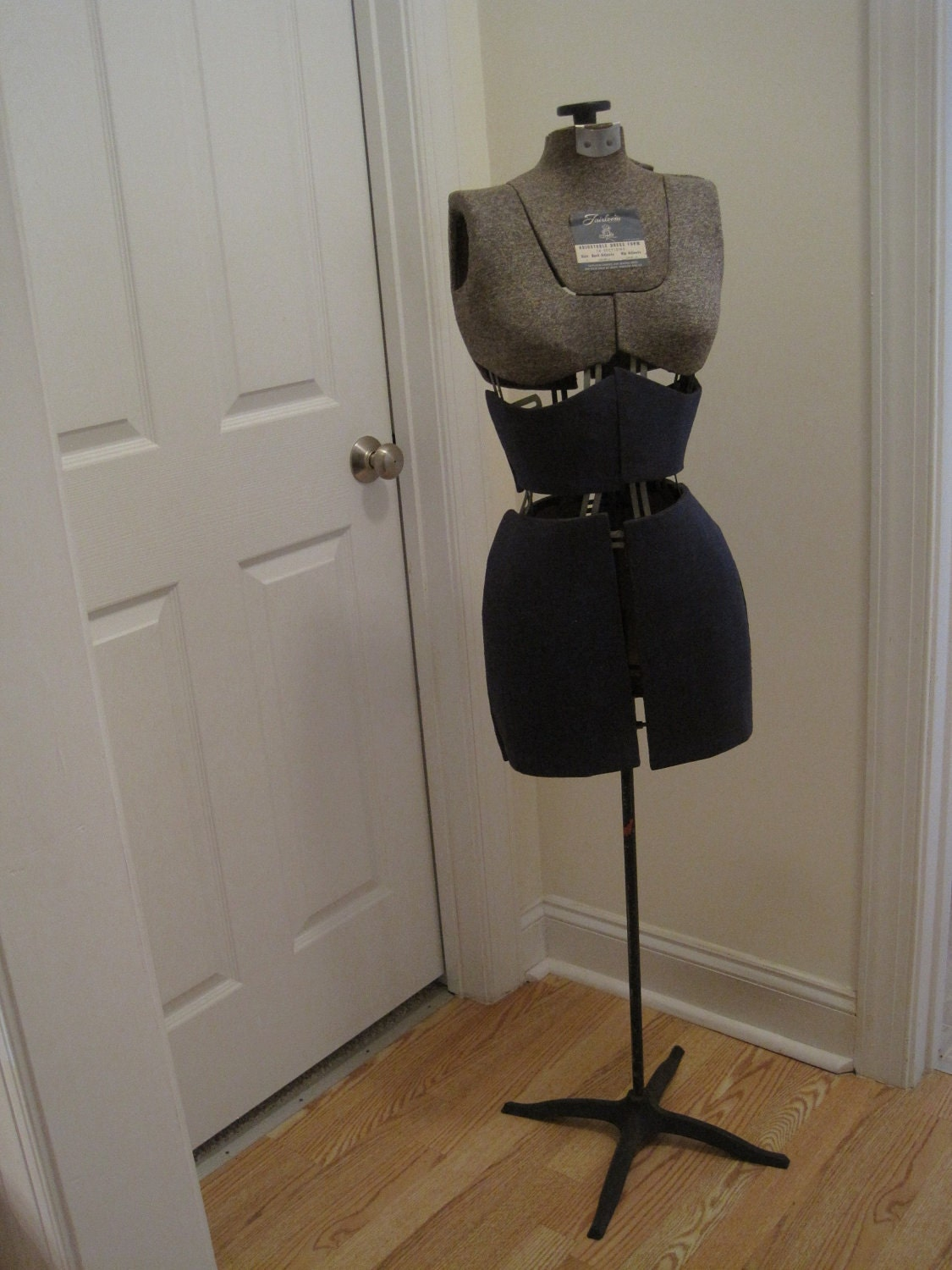 Vintage Fairloom Dressmaker Mannequin Adjustable Dress Form