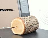 Wooden iPhone holder Branch PH005