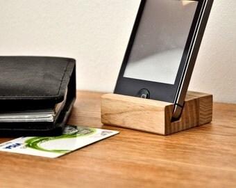 Wooden iPhone holder PH001