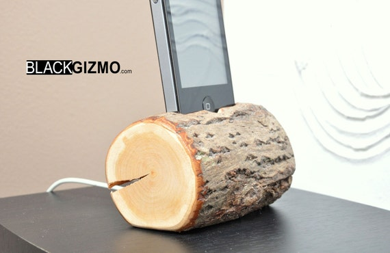 Wooden iPhone holder Branch PH005