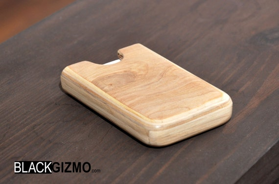 Wooden business card holder BC004