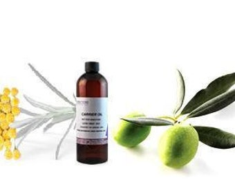 Helichrysum Italicum Infused in Olive oil - wrinkles, scars, Eczema, psoriasis, stretch marks 50ml