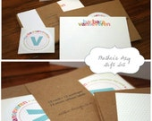 Mother's Day Personalized GIFT SET - Stationery & Special Mom Print